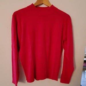 Casual Corner Pink Long Sleeve Sweater - S